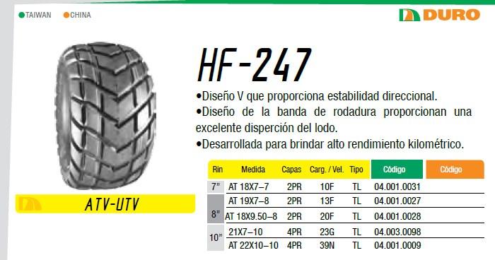 llanta para moto hf247